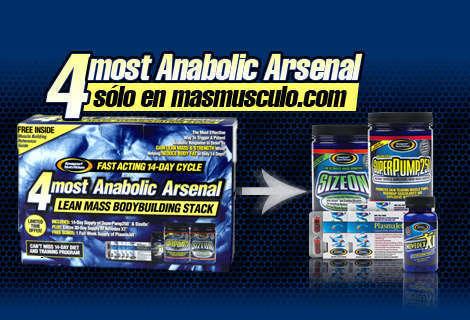 4most anabolic arsenal kit 15 dias