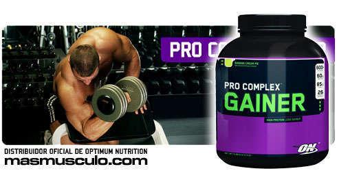 Pro complex gainer 10.16 lbs