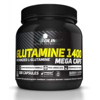 Glutamine 1400 mg - 300 mega caps