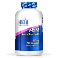 MSM 500mg envase de 180 cápsulas de Haya Labs (MSM Metilsulfonilmetano)