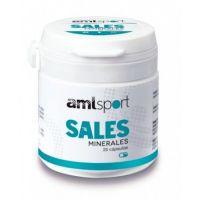 Sales Minerales envase de 25 cápsulas de AmlSport