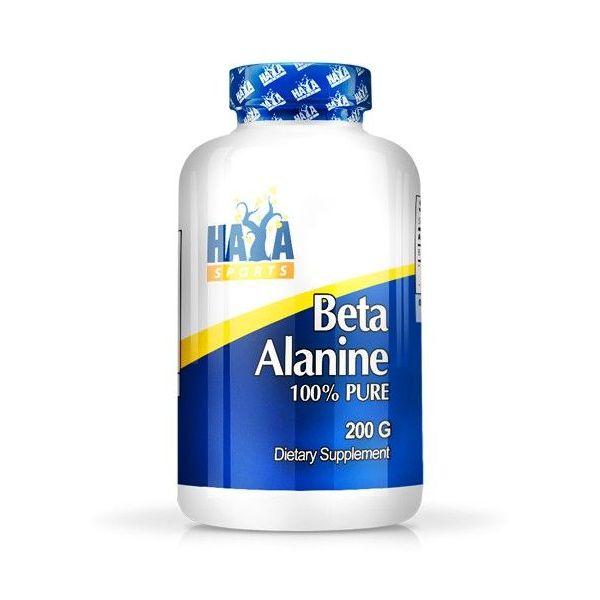 Beta Alanina 100% Pura envase de 200g de la marca Haya Labs (Aminoácidos)