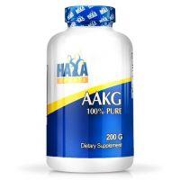AAKG 100% Puro envase de 200g del fabricante Haya Labs (Aminoácidos)