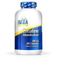 Creatina Monohidrato 500mg de 200 cápsulas de la marca Haya Labs (Recuperación)