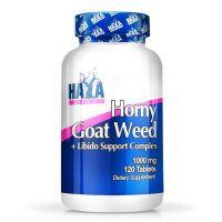 Horny Goat Weed 1000mg de 120 tabletas del fabricante Haya Labs (Mejora General)