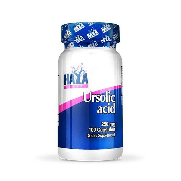 Ácido Ursólico 250mg envase de 100 capsulas de Haya Labs (Mejora General)