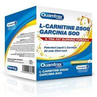L-Carnitina 2500 + Garcinia 500 de 20 viales de Quamtrax