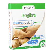 Jengibre - 30 cápsulas vegetales