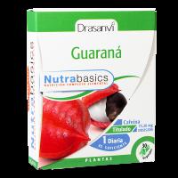 Guaraná envase de 30 cápsulas vegetales del fabricante Drasanvi (Concentración-Memoria)