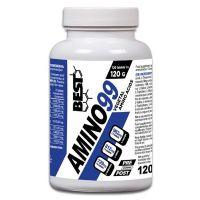 Amino99 envase de 120 tabletas de la marca Best Protein (Esenciales e Hidrolizados)