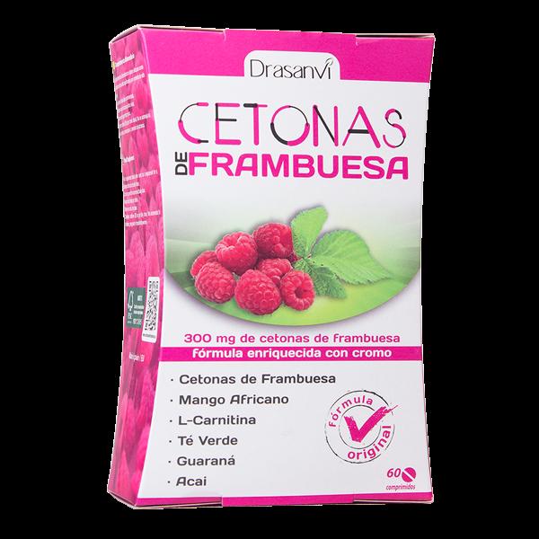 Cetonas de Frambuesa 300mg de 60 comprimidos de Drasanvi (Termogénicos)