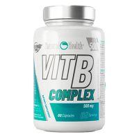 Complejo de Vitamina B 500mg de 60 cápsulas de Natural Health