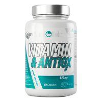 Vitaminas y Antioxidantes 820mg de 60 cápsulas de la marca Natural Health (Complejos Multivitaminicos)