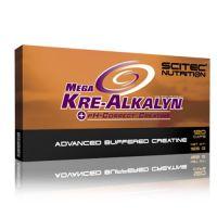 Mega Kre-Alkalyn envase de 120 cápsulas de la marca Scitec Nutrition