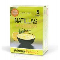 Natillas de caja de 6 sobres de 50g de la marca Prisma Natural (Postres Bajos en Calorias)