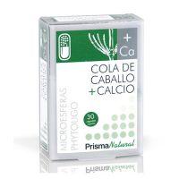 Cola de Caballo + Calcio envase de 30 cápsulas del fabricante Prisma Natural (Mejora General)
