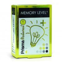 Memory level envase de 30 cápsulas de la marca Prisma Natural (Concentración-Memoria)