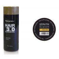 Hair 3.0 building fibers blonde