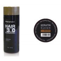 Hair 3.0 building fibers Castaño de Prisma Natural