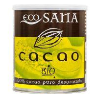 Cacao Puro Desgrasado Bio envase de 275g de EcoSana (Cremas de Chocolate Bajas en Calorias)
