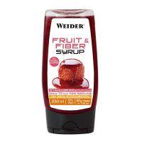 Sirope de frutas rico en fibra envase de 250ml de Weider (Salsas y Siropes Dulces sin Calorias)