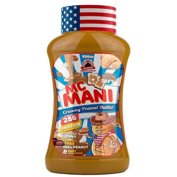 McMani de crema de cacahuete de Max Protein (Cremas de Cacahuete)