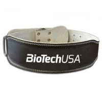 Cinturón de Culturismo Negro de Biotech USA