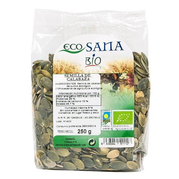 Semilla de Calabaza de 250g del fabricante EcoSana (Cereales y Legumbres)