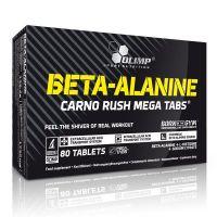 Beta Alanine Carno Rush de 80 tabletas del fabricante Olimp Sport (Beta-Alanina)