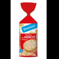 Tortitas de Arroz Integral envase de 130g de Bicentury (Pancakes, Tortillas y Creps)