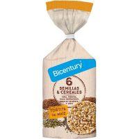 Tortitas de Maíz con Semillas y Cereales envase de 120g de Bicentury (Pancakes, Tortillas y Creps)