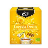 Energía Detox envase de 21,6 g de la marca Yogi Organic (Infusiones y tisanas)