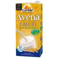 Bebida de Avena Calcio envase de 1l del fabricante Gerblé (Bebidas Vegetales)