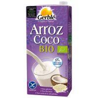 Bebida de Arroz y Coco Bio envase de 1l del fabricante Gerblé (Bebidas Vegetales)
