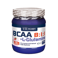 BCAA 8:1:1 + L-Glutamina de 500g de Victory Weider (BCAA + Glutamina)