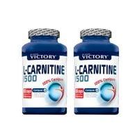 de pack duo l-carnitina 1500 del fabricante Victory Weider (L-Carnitina)