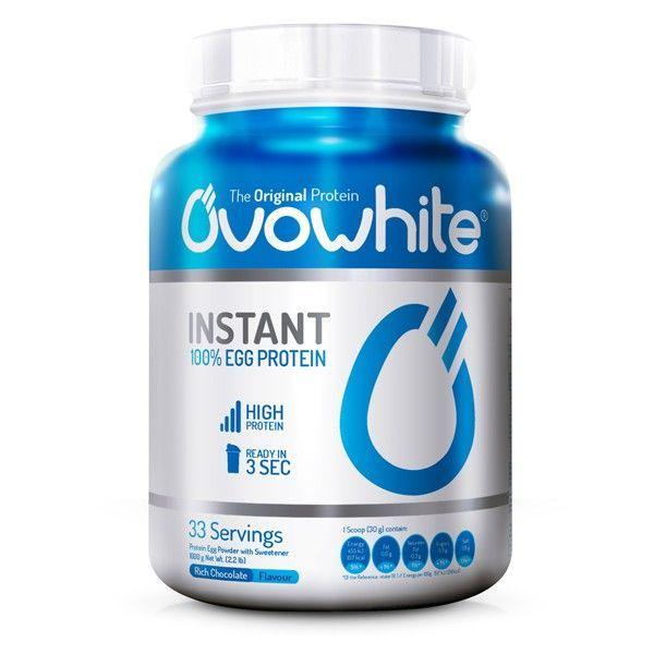 OvoWhite Instant de proteína de huevo instantánea de la marca OvoWhite (Proteína de Huevo)