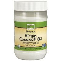 Aceite de coco virgen orgánico envase de 355ml del fabricante Now Foods (Aceites)
