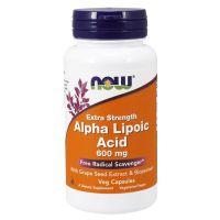Ácido Alfa Lipóico 600mg envase de 120 cápsulas vegetales del fabricante Now Foods (Acido Alfa Lipoico)