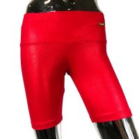 Sparkly short red