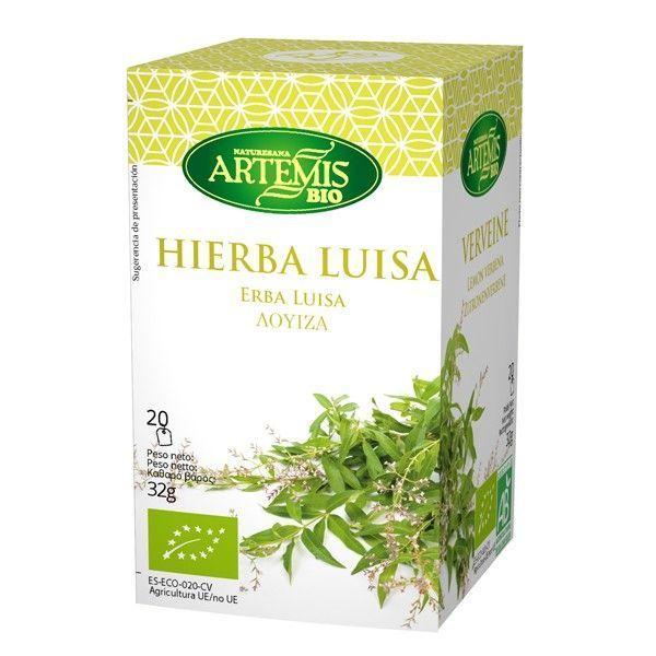 Infusión de Hierba Luisa envase de 20 sobres de Artemis BIO (Infusiones y tisanas)