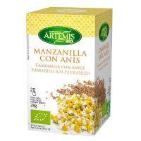 Infusion de Manzanilla con Anís envase de 20 sobres de la marca Artemis BIO (Infusiones y tisanas)