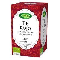 Infusión de Té Rojo envase de 20 sobres del fabricante Artemis BIO (Infusiones y tisanas)