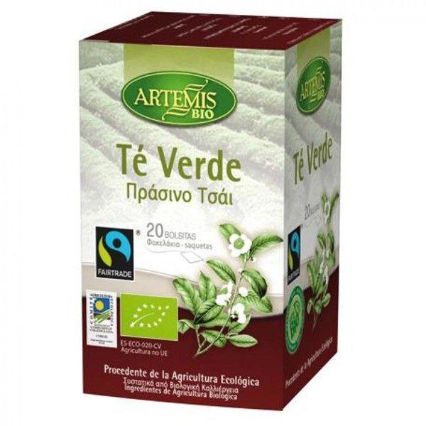 Infusión de Té Verde de 20 sobres de Artemis BIO (Infusiones y tisanas)