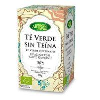 Infusión de Té Verde Sin Teina de la marca Artemis BIO (Infusiones y tisanas)