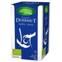 Infusión Duerme-T de 20 sobres del fabricante Artemis BIO (Infusiones y tisanas)