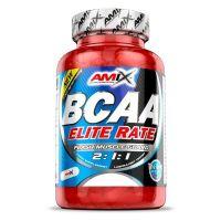 BCAA Elite Rate 2:1:1 envase de 350 cápsulas de la marca Amix Nutrition (BCAA Ramificados)