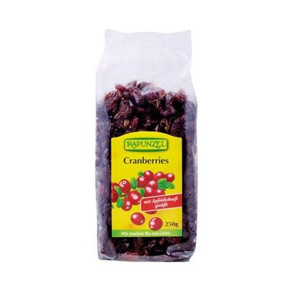 Red cashew cranberries rapunzel - 250 g