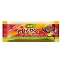 Barrita Choco Arroz Rumba Rapunzel envase de 50g de la marca Biocop (Barritas)