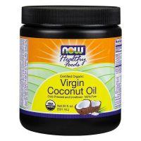 Aceite de Coco Virgen Orgánico envase de 591ml de la marca Now Foods (Aceites)